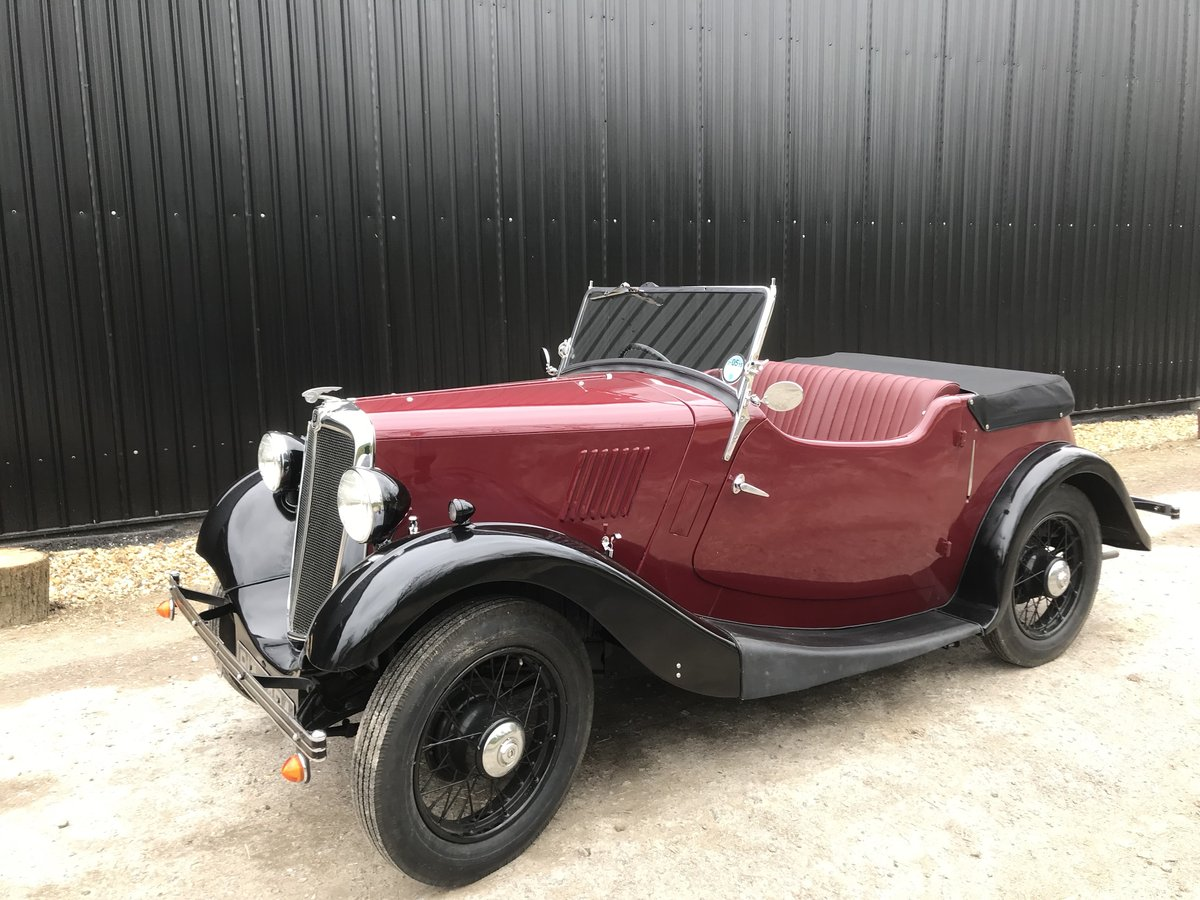 1935 Morris Eight Pre-series 2 seat tourer -totally restored SOLD (picture 6 of 11)