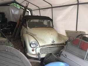 1966 Morris Minor Convertible For Sale