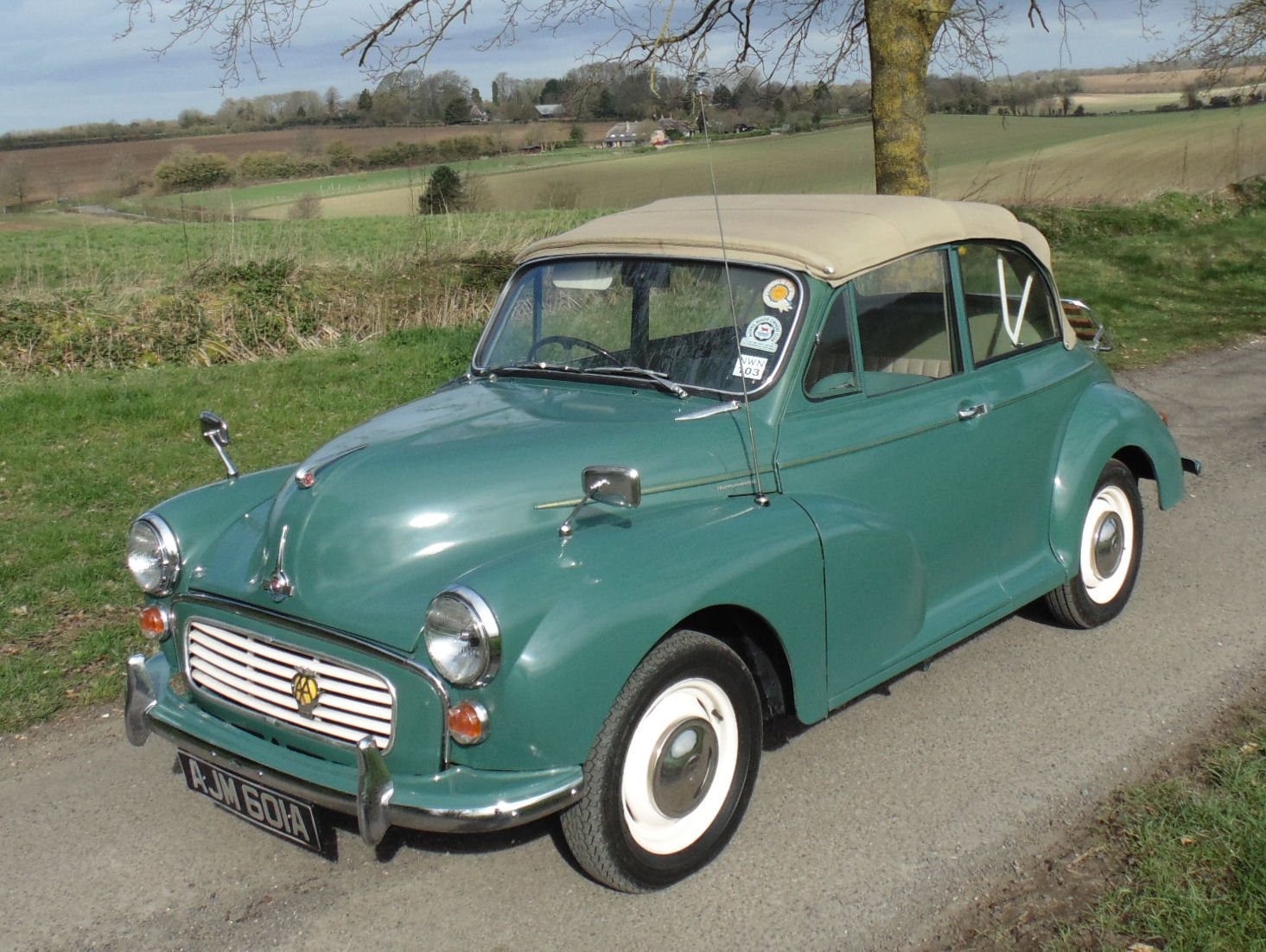 1963 Morris Minor 1000 Convertible SOLD (picture 1 of 6)