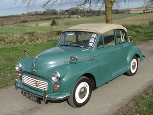 1963 Morris Minor 1000 Convertible SOLD