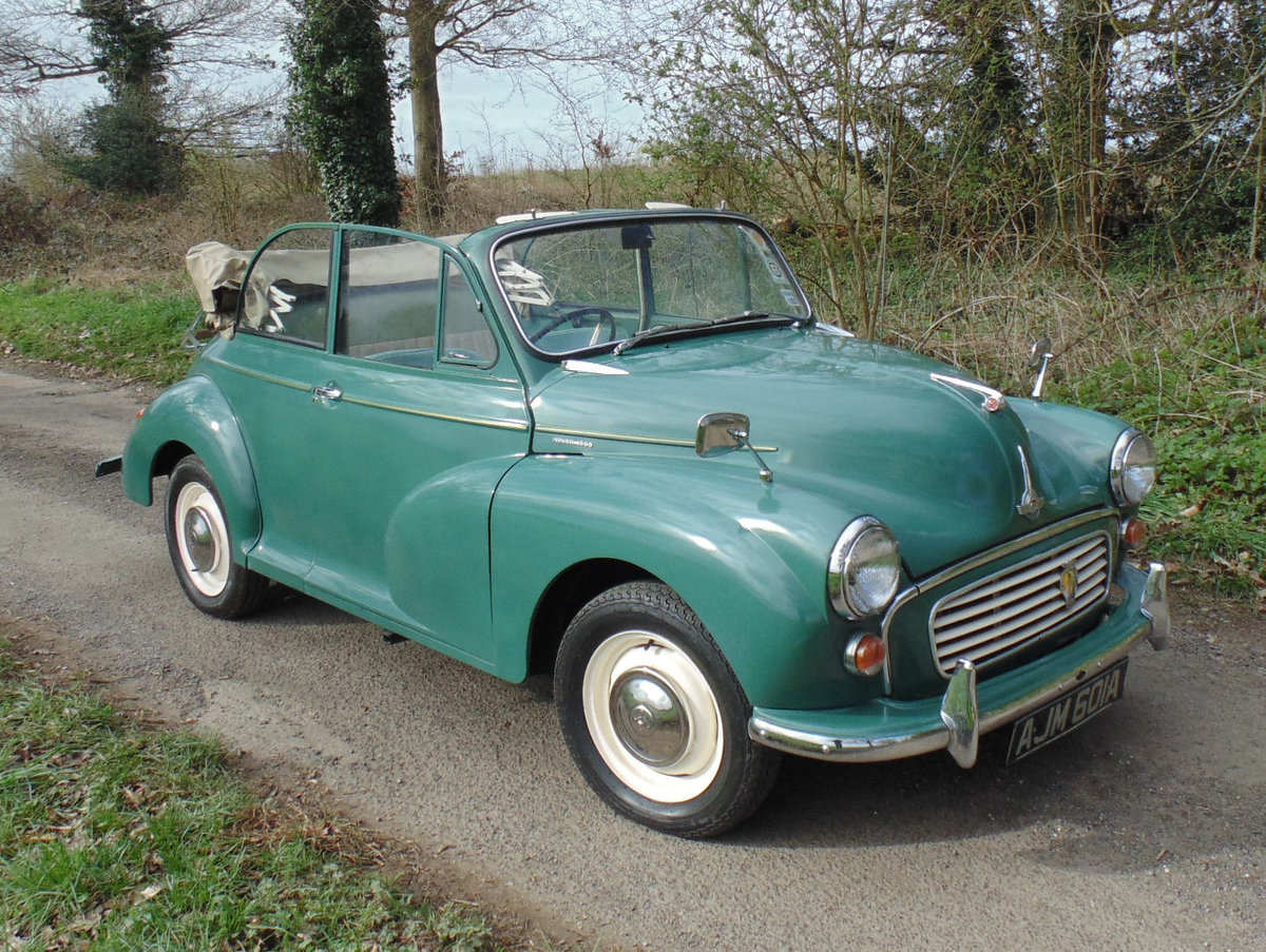 1963 Morris Minor 1000 Convertible SOLD (picture 2 of 6)
