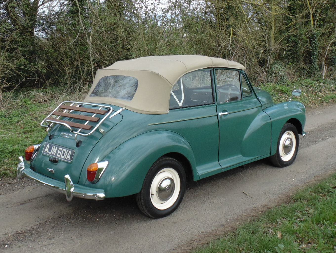 1963 Morris Minor 1000 Convertible SOLD (picture 3 of 6)