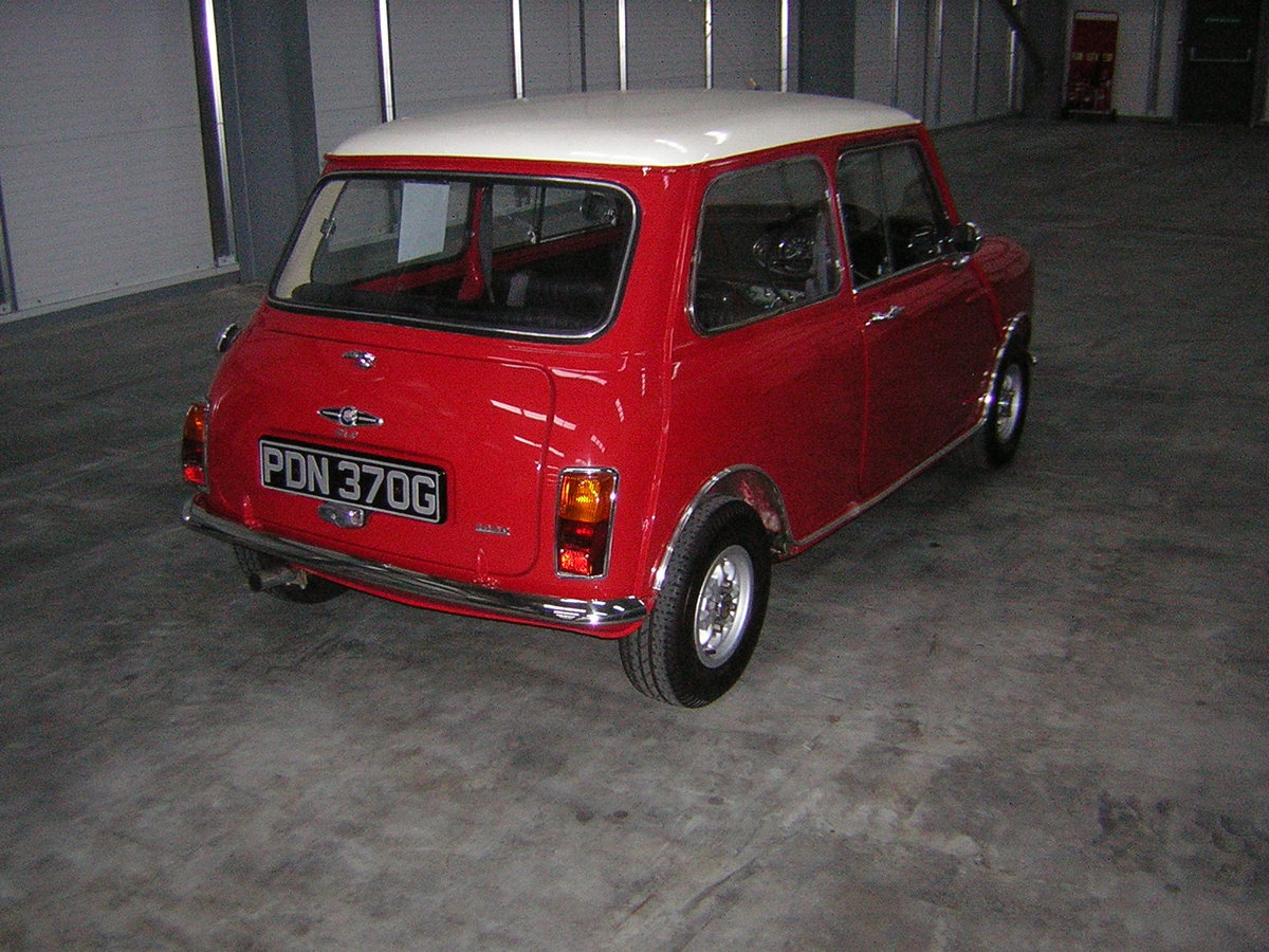1968 Morris Mini Cooper Mk11 For Sale (picture 4 of 6)