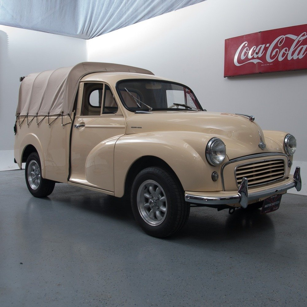 1960 Morris Minor 1000 1/4-ton Pickup = clean driver $28.9k For Sale (picture 1 of 3)