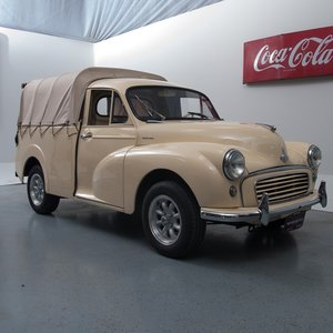 1960 Morris Minor 1000 1/4-ton Pickup = clean driver $28.9k For Sale