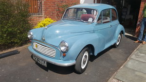 1963 Morris Minor 1000 Project For Sale