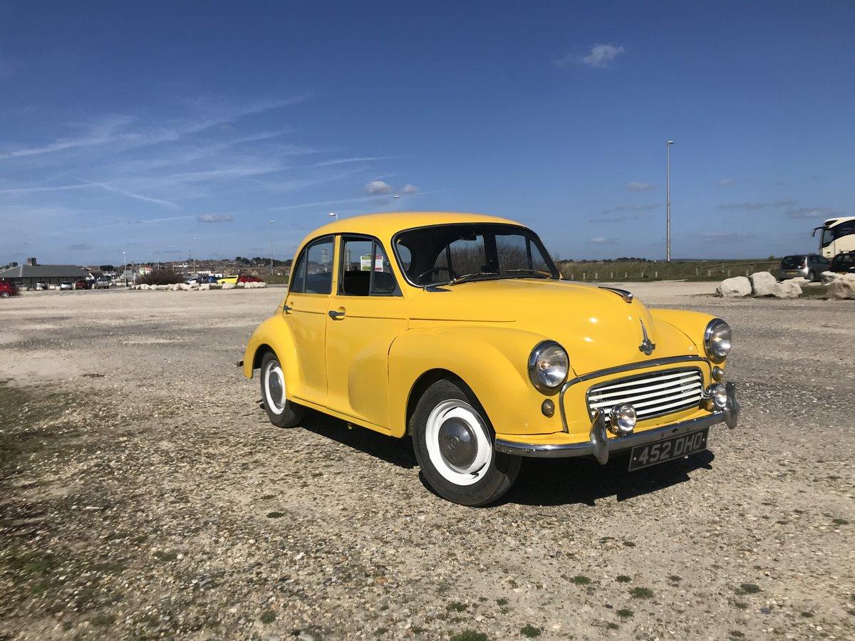 Drive Away Cars >> 1961 Stunning 61 Morris Minor Drive Away Unleaded Motd For Sale