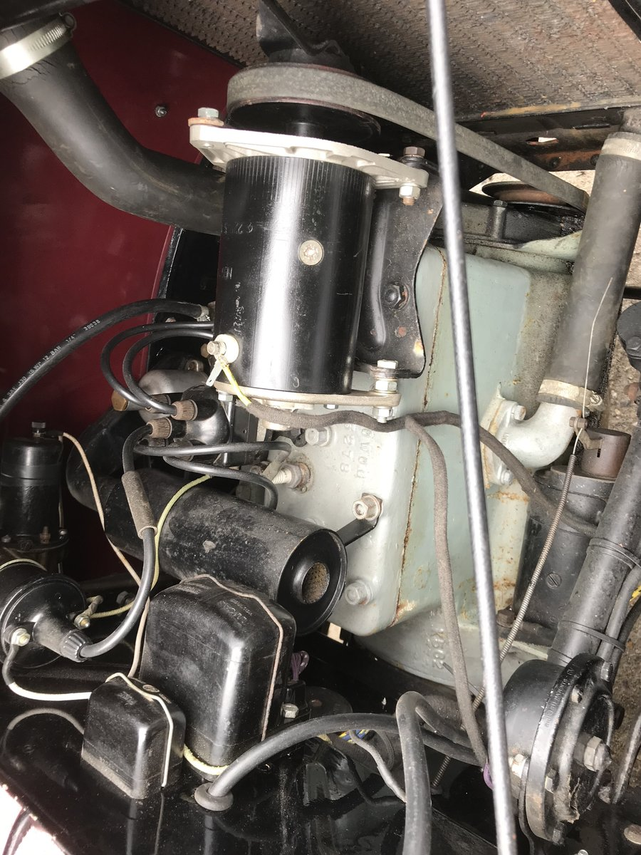 1935 Morris Eight Pre-series 2 seat tourer -totally restored SOLD (picture 8 of 11)