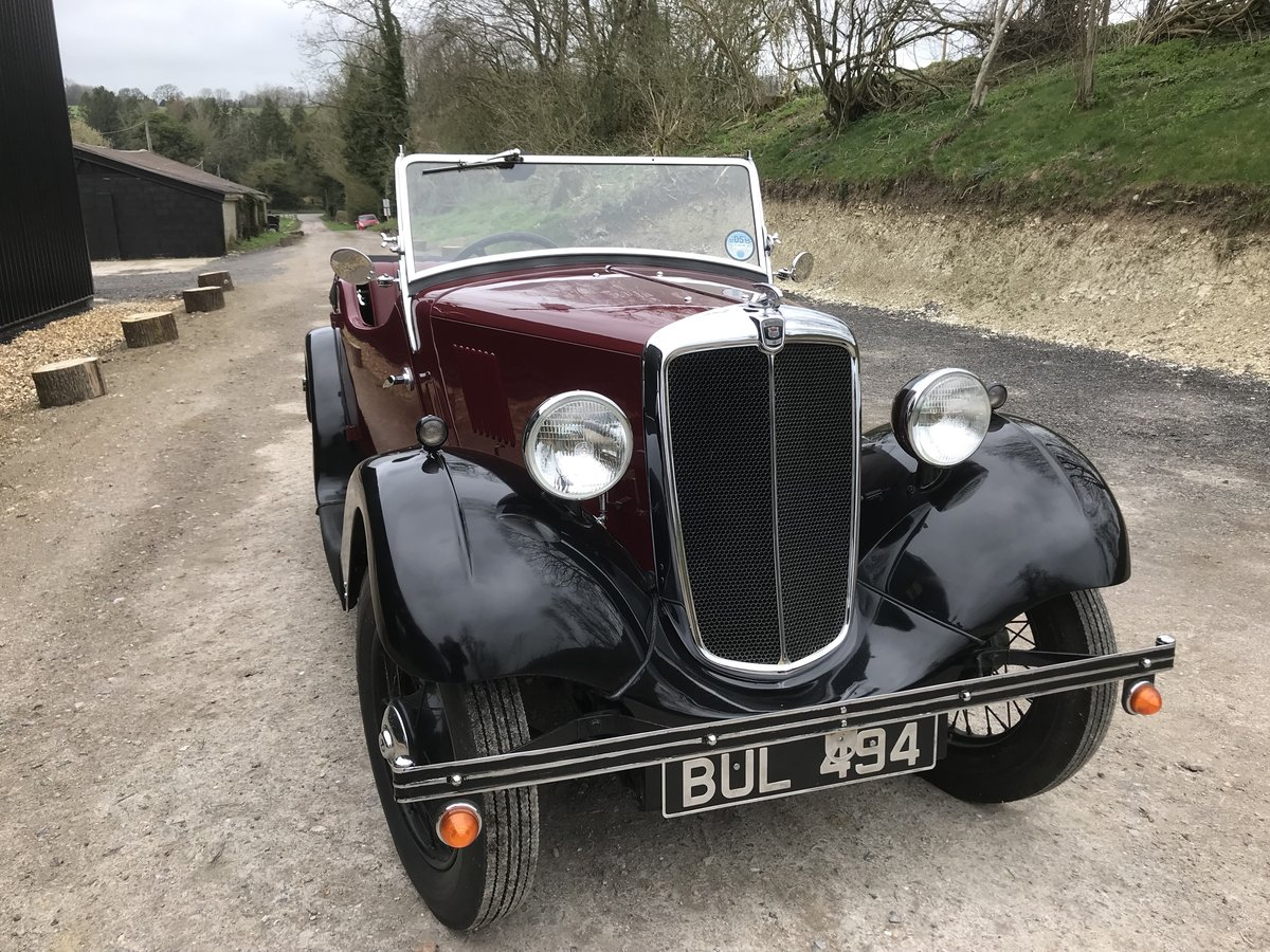 1935 Morris Eight Pre-series 2 seat tourer -totally restored SOLD (picture 9 of 11)
