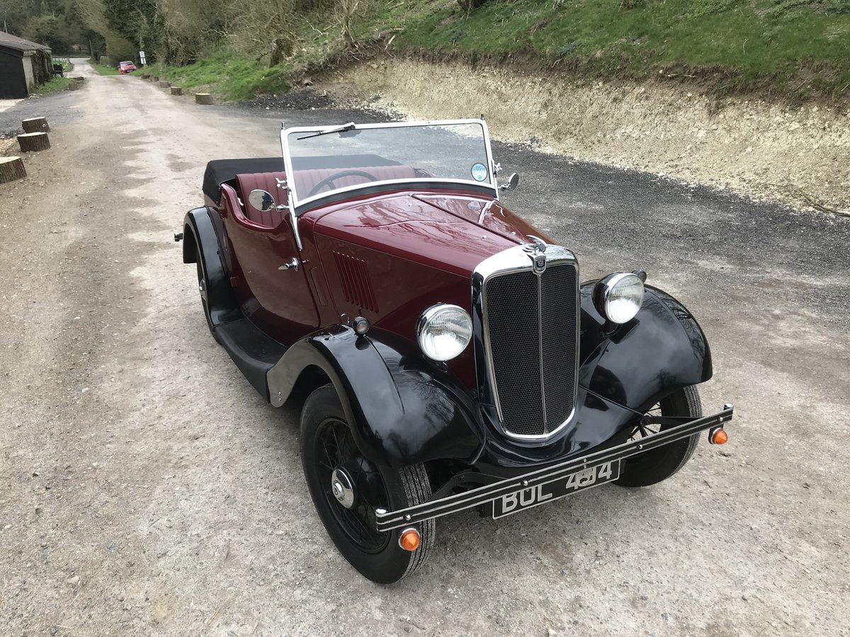 1935 Morris Eight Pre-series 2 seat tourer -totally restored SOLD (picture 10 of 11)