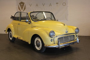 Moris minor convertible, 1958 For Sale by Auction