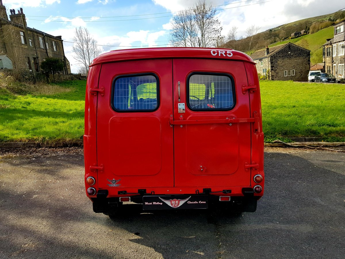 1970 Fully restored '09 with log, comes with Royal mail history For Sale (picture 3 of 6)
