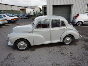 1955 MORRIS MINOR Series ll Splitscreen Four Door Saloon For Sale