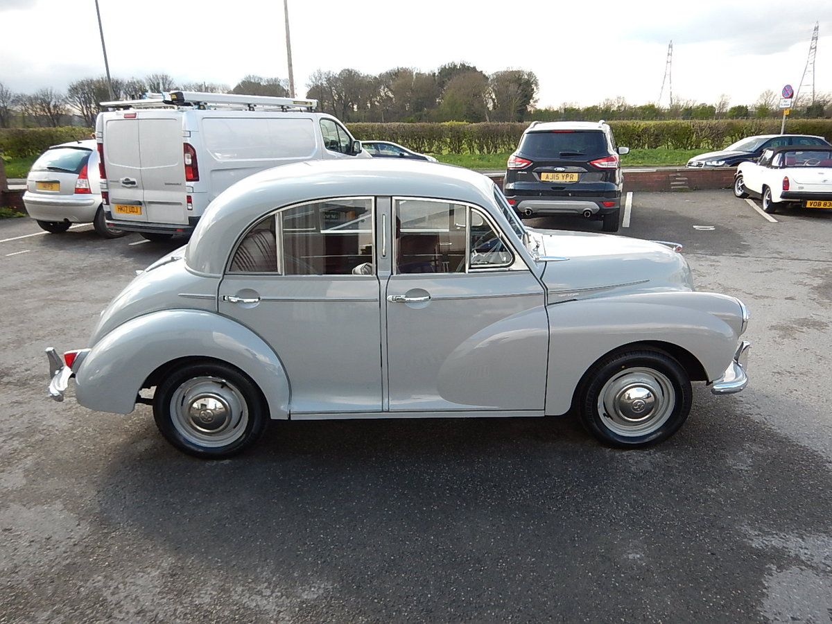 1955 MORRIS MINOR Series ll Splitscreen Four Door Saloon SOLD (picture 3 of 6)