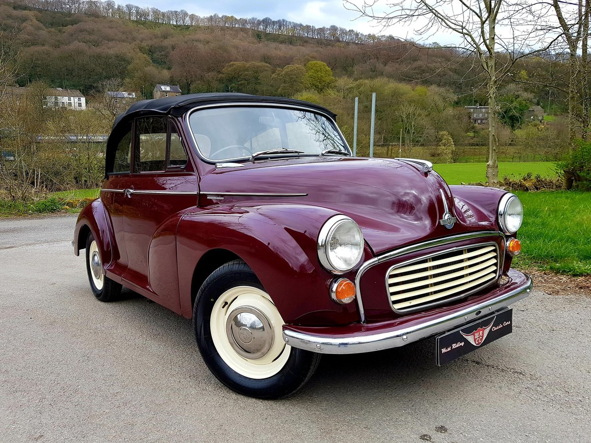 1965 Excellent quality Minor tourer, ideal for spring For Sale (picture 1 of 6)