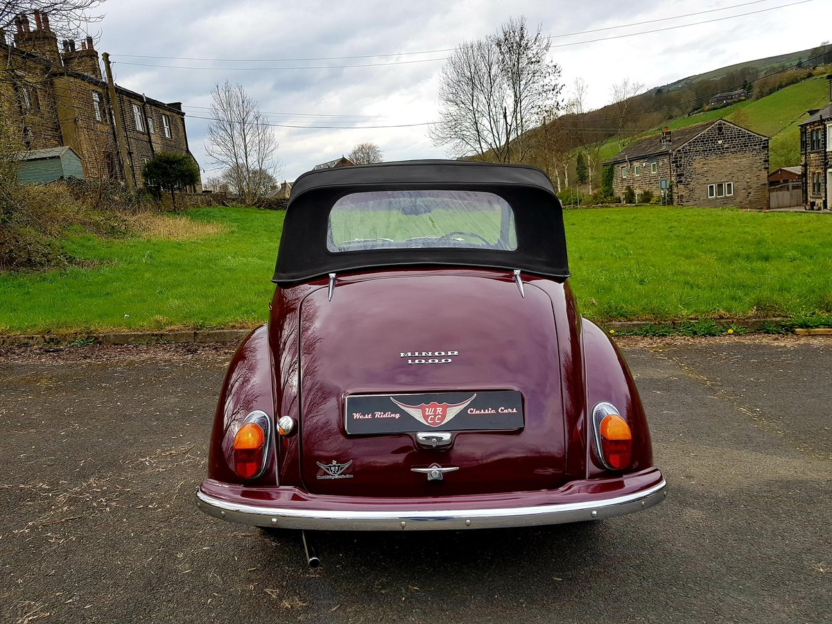 1965 Excellent quality Minor tourer, ideal for spring For Sale (picture 3 of 6)