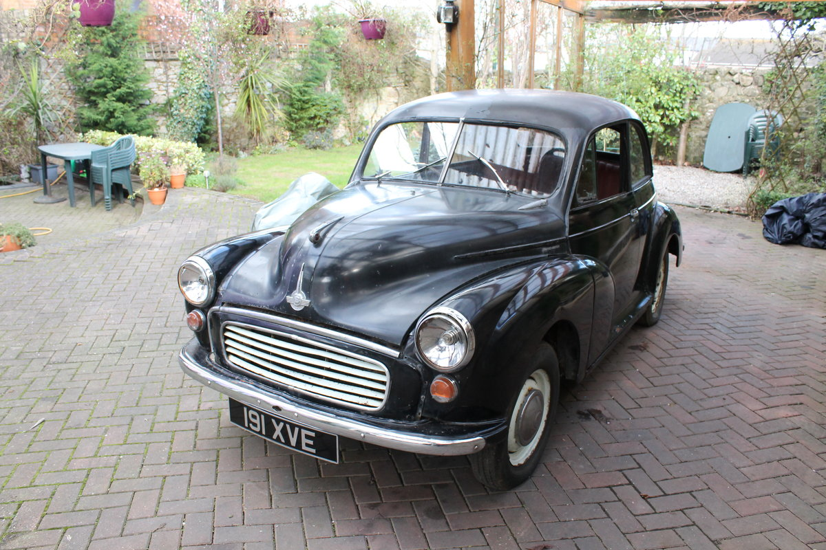 1956 split screen moggy , black For Sale (picture 1 of 6)