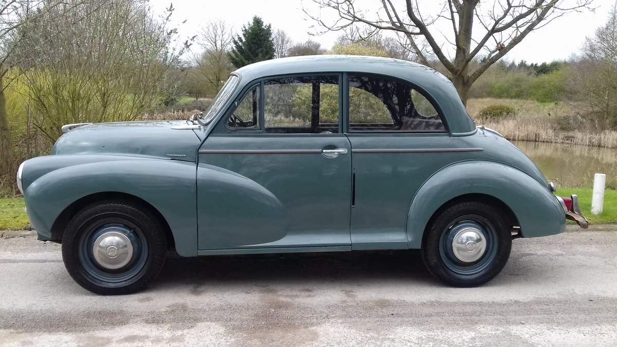 1958 MORRIS MINOR 2DR SALOON ~ GREAT 'ENTRY LEVEL' CLASSIC! SOLD (picture 1 of 6)