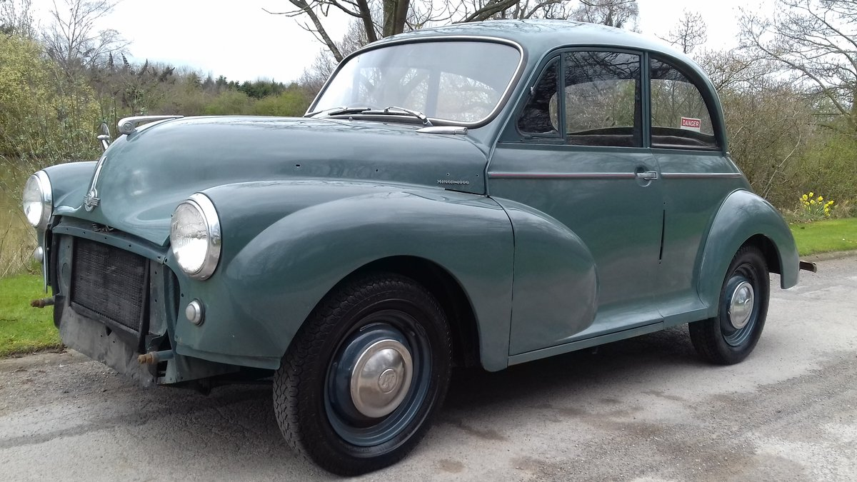 1958 MORRIS MINOR 2DR SALOON ~ GREAT 'ENTRY LEVEL' CLASSIC! SOLD (picture 2 of 6)