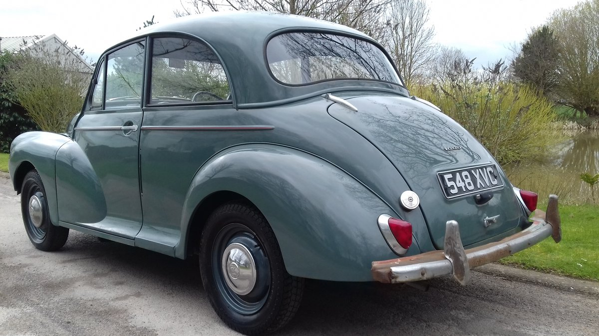 1958 MORRIS MINOR 2DR SALOON ~ GREAT 'ENTRY LEVEL' CLASSIC! SOLD (picture 3 of 6)