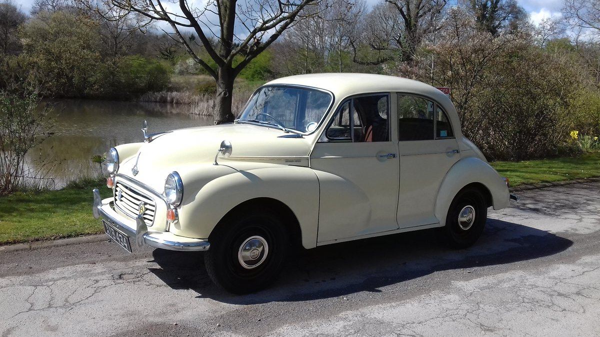 1957 MORRIS MINOR 'CARRIE' 4DR SALOON ~ USE & IMPROVE!!      For Sale (picture 1 of 6)