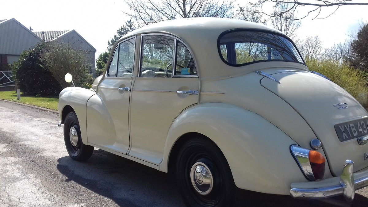 1957 MORRIS MINOR 'CARRIE' 4DR SALOON ~ USE & IMPROVE!!      For Sale (picture 2 of 6)