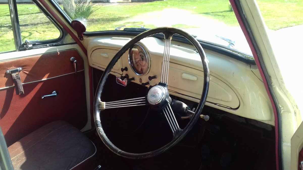 1957 MORRIS MINOR 'CARRIE' 4DR SALOON ~ USE & IMPROVE!!      For Sale (picture 4 of 6)