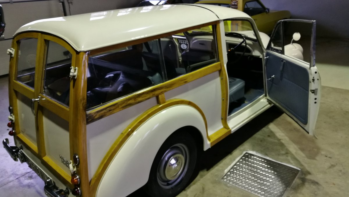 1968 Minor Traveller Woody FULLY RESTORED For Sale (picture 5 of 6)
