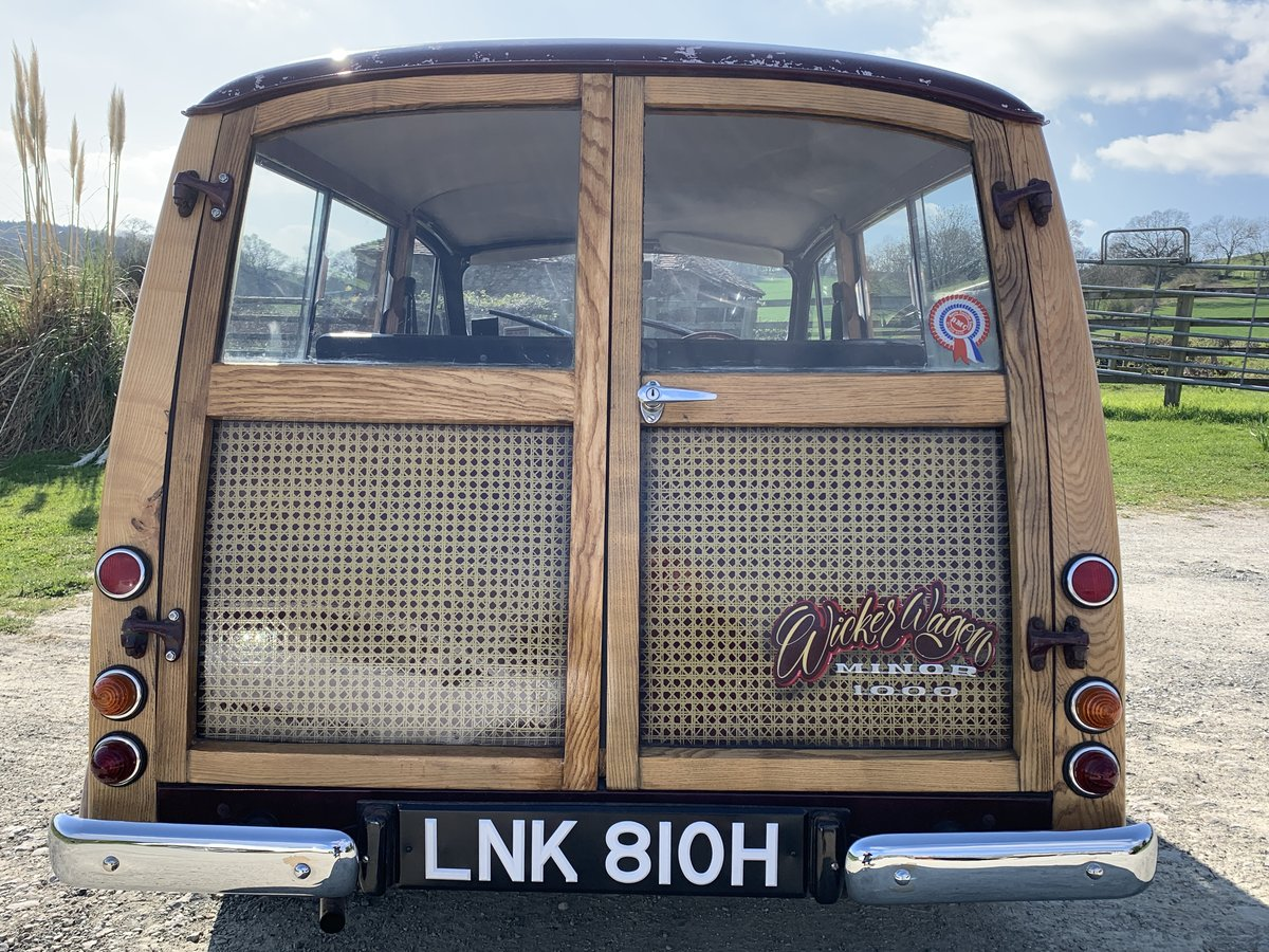 1969 TV Star Morris 1000 Traveller  For Sale (picture 4 of 6)