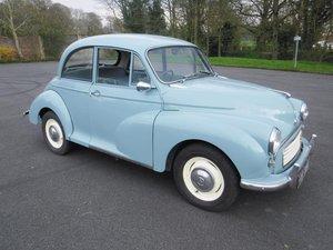 **APRIL AUCTION**1962 Morris Minor 1000 For Sale by Auction
