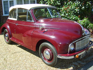 1949 morris minor low light tourer For Sale