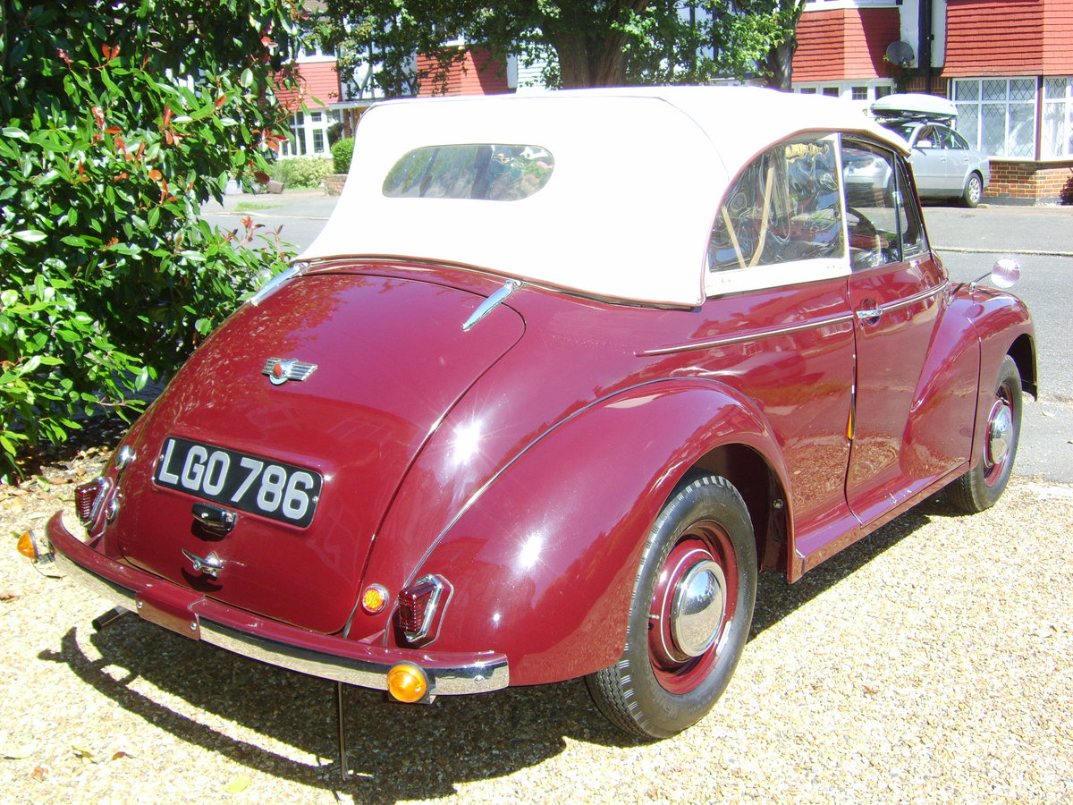 1949 morris minor low light tourer For Sale (picture 2 of 6)