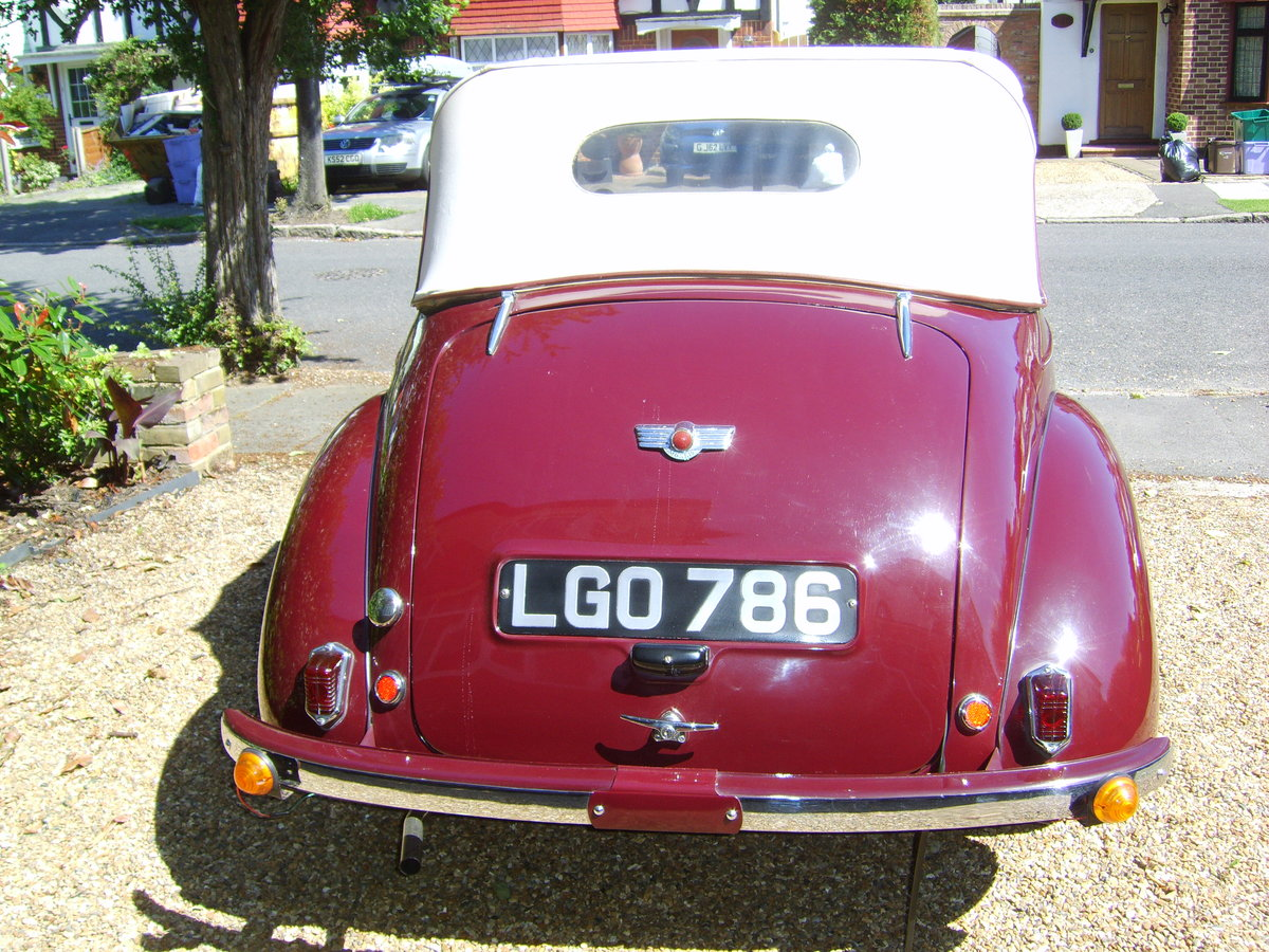 1949 morris minor low light tourer For Sale (picture 3 of 6)