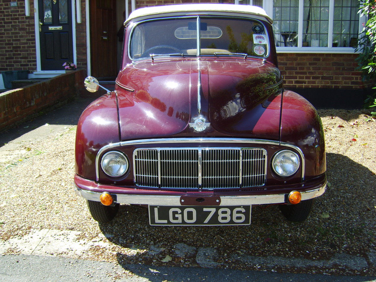 1949 morris minor low light tourer For Sale (picture 4 of 6)