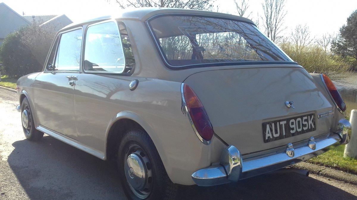 1971 MORRIS/AUSTIN 1300 2DR (AUSTIN 1100)~'HYDROLASTIC SUSPE SOLD (picture 2 of 6)