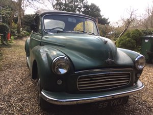 1963 Genuine Minor Convertible with nice plate. For Sale