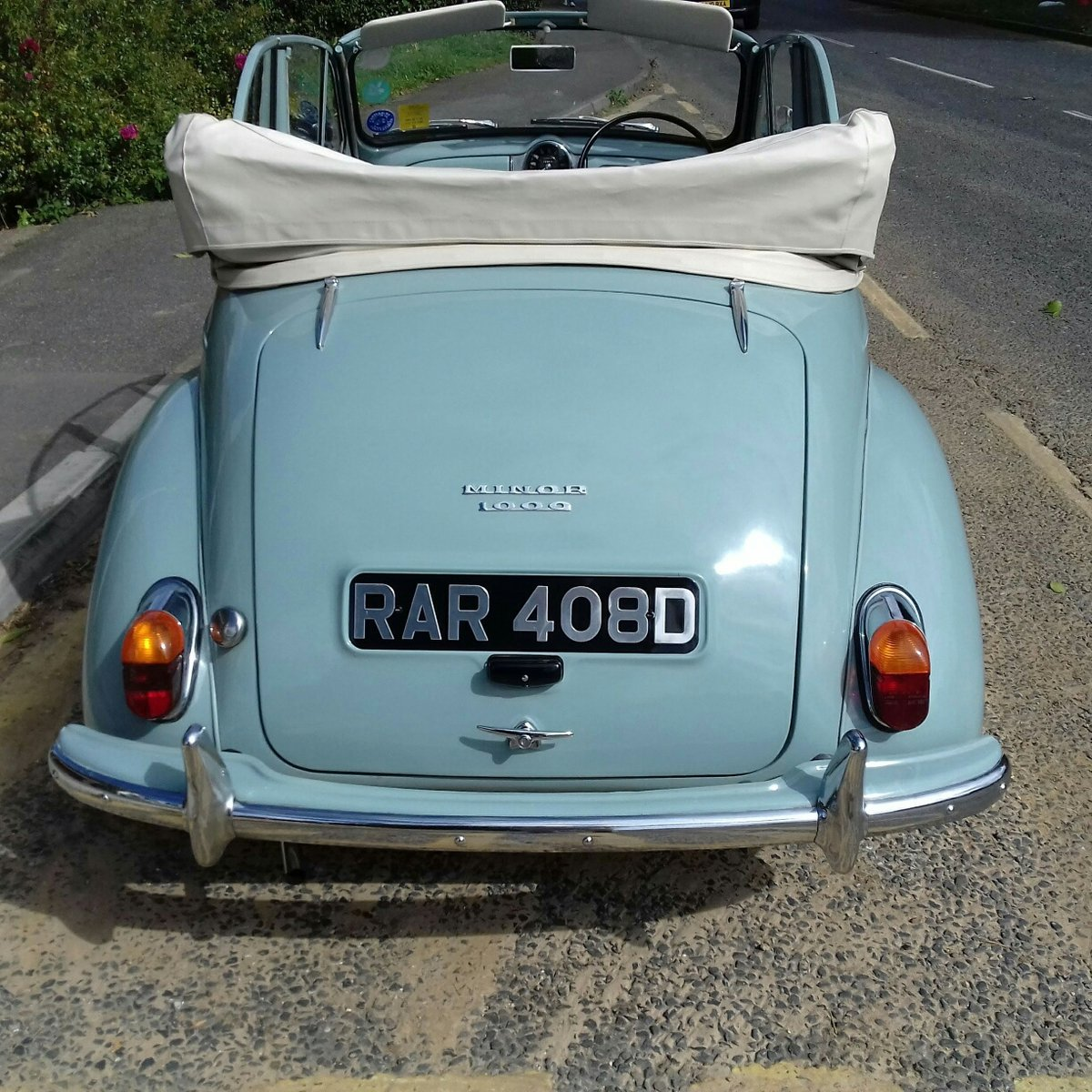1966 Morris Minor 1000 Convertible For Sale (picture 5 of 6)