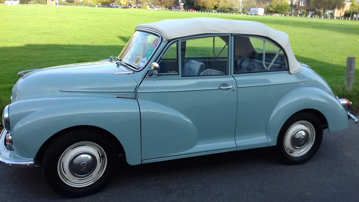 1966 Morris Minor 1000 Convertible For Sale (picture 6 of 6)