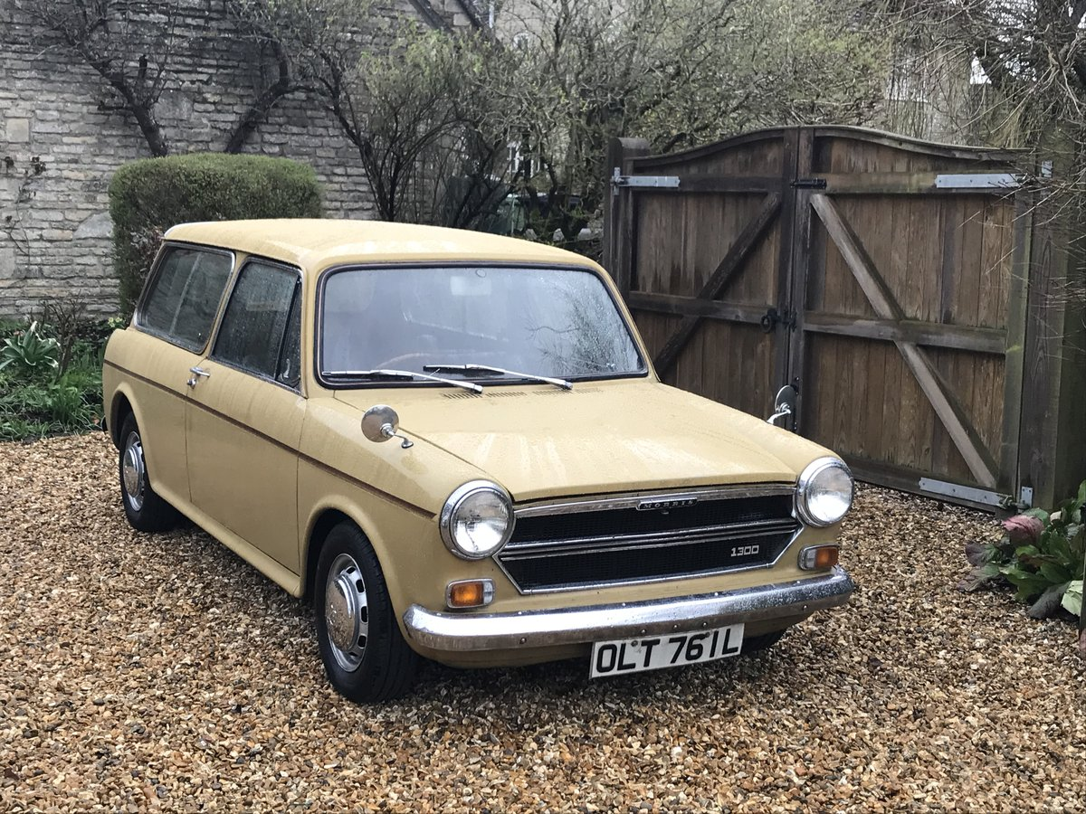 1972 Morris 1300 Harvest Gold Countryman Automatic For Sale (picture 1 of 3)