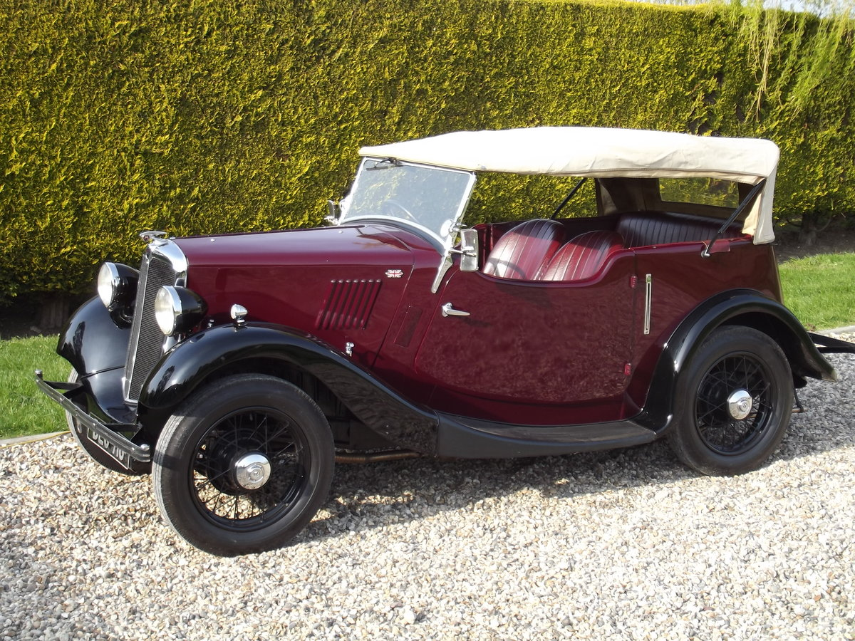 1936 Morris 8HP Series One Four Seater Tourer For Sale (picture 6 of 6)
