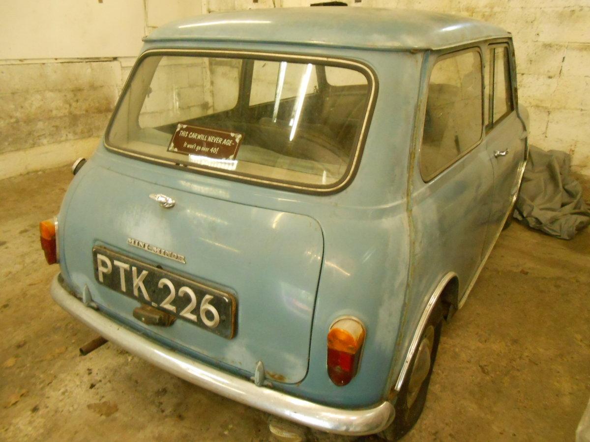 1960 MINI MORRIS MINI MINOR 850 For Sale (picture 1 of 6)