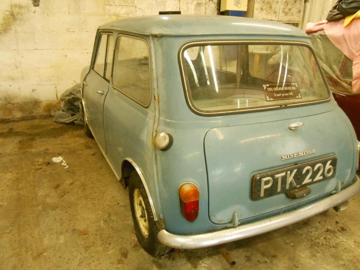 1960 MINI MORRIS MINI MINOR 850 For Sale (picture 3 of 6)
