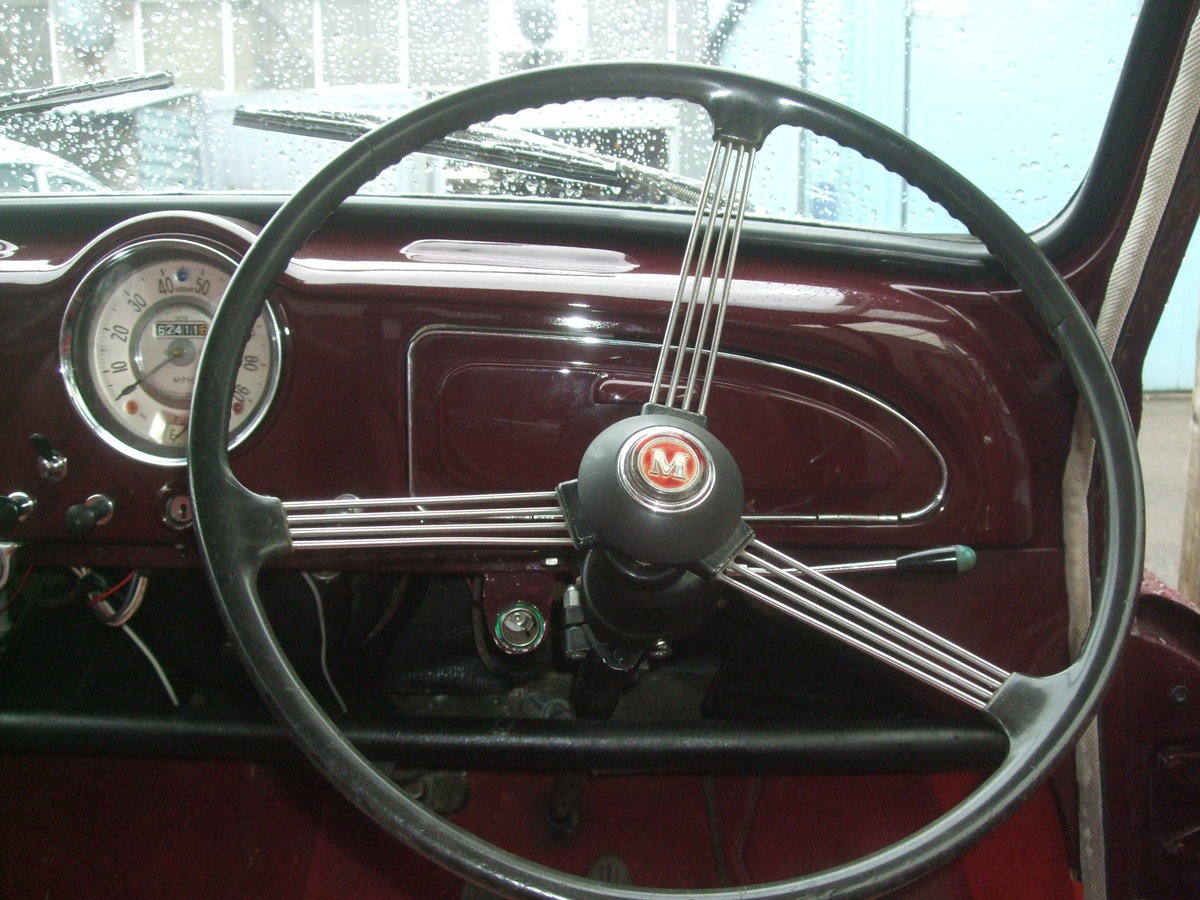 1961 MAROON, REPLICA CONVERTIBLE, CHEROKEE RED INTERIOR TRIM SOLD (picture 4 of 5)