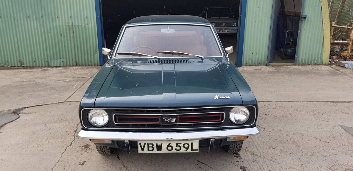 1973 **Morris Marina Coupe 1.8 TC July 20th** For Sale by Auction (picture 1 of 6)