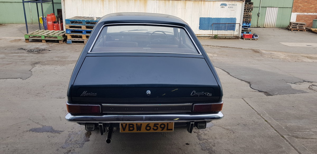 1973 **Morris Marina Coupe 1.8 TC July 20th** For Sale by Auction (picture 3 of 6)