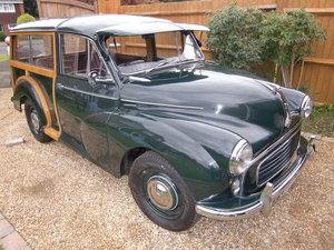 1958 Morris Minor Traveller NO RESERVE  For Sale by Auction