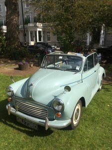 PRICE REDUCED!! Morris Minor Convertible 1966 good
