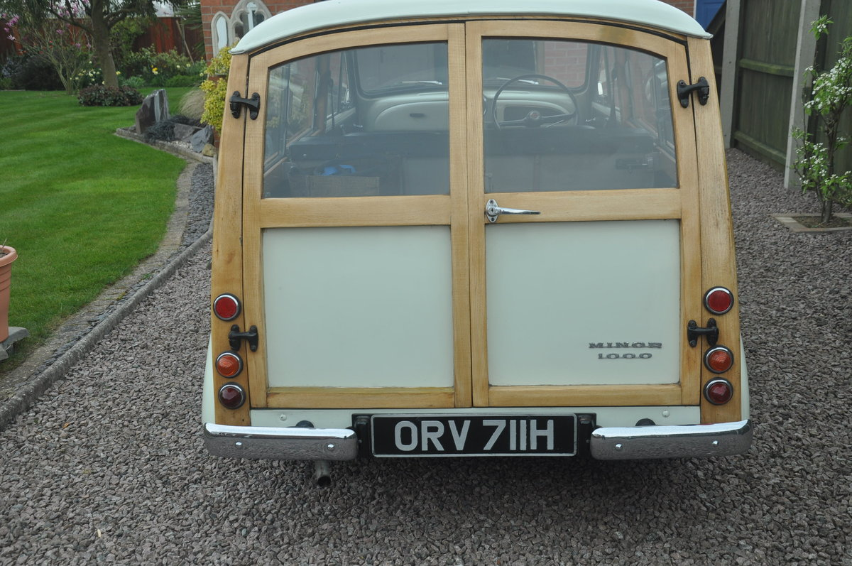 1970 For Sale : Morris Traveller For Sale (picture 4 of 6)