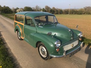 *SOLD*1969 Green Driveaway Morris Minor Traveller For Sale