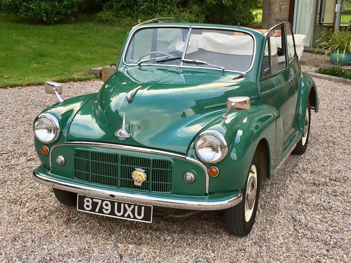 1954 Morris Minor Convertible Split Windscreen For Sale
